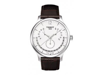 Tissot T-Classic Tradition T063.637.16.037.00  + prodloužená záruka 5 let + 5 let na výměnu baterie zdarma