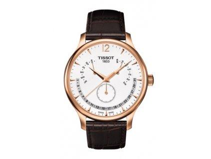 Tissot T-Classic Tradition T063.637.36.037.00  + prodloužená záruka 5 let + 5 let na výměnu baterie zdarma