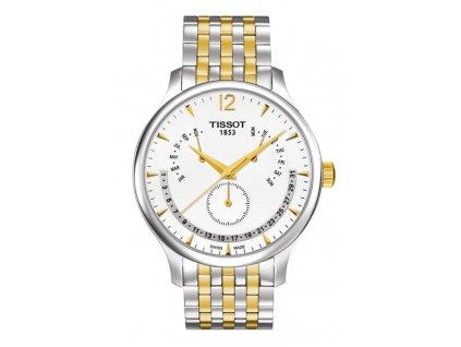 Tissot T-Classic Tradition T063.637.22.037.00  + prodloužená záruka 5 let + 5 let na výměnu baterie zdarma