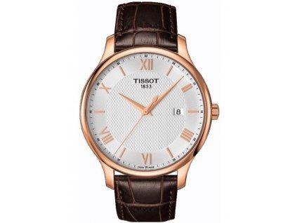Tissot T-Classic Tradition T063.610.36.038.00  + prodloužená záruka 5 let + možnost výměny do 90 dní + 5 let na výměnu baterie zdarma