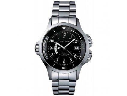 Hamilton Khaki GMT H77615133  + možnost výměny do 90 dní
