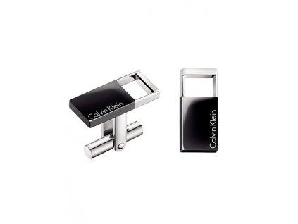 Manžetové knoflíčky Calvin Klein Hollow KJ7RBC200100  + možnost výměny do 90 dní