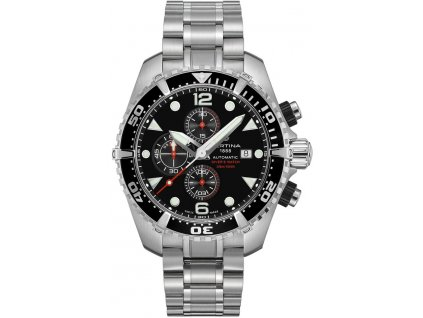 Certina DS Action Diver Chronograph Automatic C032.427.11.051.00 + prodloužená  záruka 5 let e21b8562abb