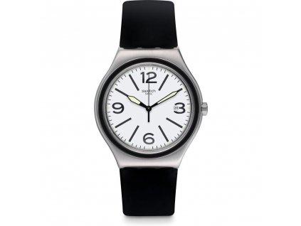 Swatch Noir Du Soir YWS424  + prodloužená záruka 5 let + 5 let na výměnu baterie zdarma