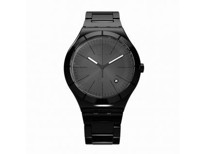 Swatch Noir Intense YWB404G  + prodloužená záruka 5 let + 5 let na výměnu baterie zdarma
