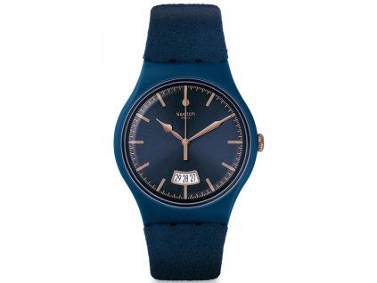 Swatch Cent Blue SUON400  + prodloužená záruka 5 let + 5 let na výměnu baterie zdarma