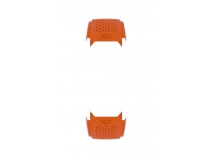 Pryžový řemínek Connected Modular 45 oranžový