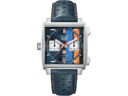 TAG Heuer Monaco Gulf CAW211R.FC6401  + prodloužená záruka 5 let + pojištení na rok + natahovač na hodinky ZDARMA