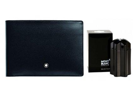 Peněženka Montblanc Meisterstuck 06179-30673  + dárkový poukaz v hodnotě 500Kč + toaletní voda Montblanc v hodnotě 520Kč