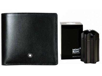 Peněženka Montblanc Meisterstuck Black 07163  + možnost výměny do 90 dní + dárkový poukaz v hodnotě 500Kč + toaletní voda Montblanc v hodnotě 520Kč