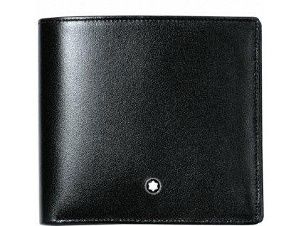 Peněženka Montblanc Meisterstuck Black 07163  + dárkový poukaz v hodnotě 500Kč + toaletní voda Montblanc v hodnotě 520Kč