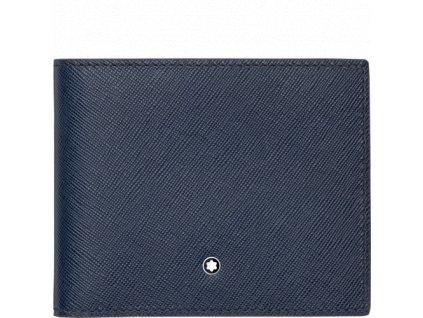Peněženka Montblanc Sartorial Indigo 113213  + dárkový poukaz v hodnotě 500Kč