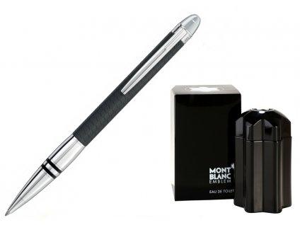 Kuličkové pero Montblanc Starwalker 116917  + dárkový poukaz v hodnotě 1000Kč + toaletní voda Montblanc v hodnotě 520Kč