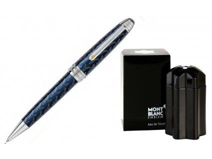 Kuličkové pero Montblanc Malý Princ 118047  + dárkový poukaz v hodnotě 500Kč + toaletní voda Montblanc v hodnotě 520Kč
