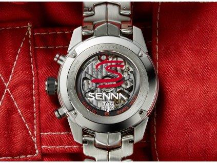 TAG Heuer Carrera Heuer 02 Senna CBG2013.BA0657  + natahovač na hodinky