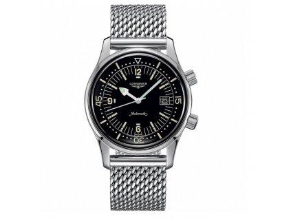 Longines Heritage Legend Diver L3.674.4.50.6  + prodloužená záruka 5 let + pojištení na rok + natahovač na hodinky ZDARMA