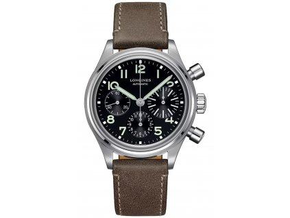 Longines Heritage Avigation Bigeye L2.816.4.53.2  + prodloužená záruka 5 let + pojištení na rok + natahovač na hodinky ZDARMA