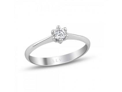 Prsten s briliantem RMD1012