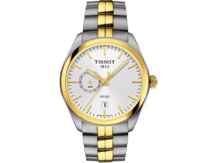 tissot pr 100 dual time t1014522203100 171625 183457