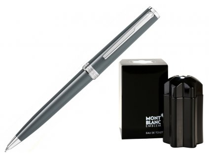Kuličkové pero Montblanc PIX Grey 116578  + možnost výměny do 90 dní + toaletní voda Montblanc v hodnotě 520Kč