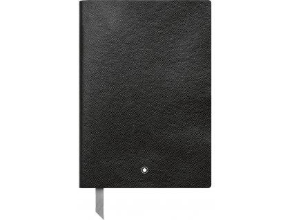 Notes Montblanc Fine Stationery Black 116401  + možnost výměny do 90 dní
