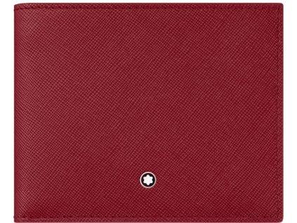 Peněženka Montblanc Sartorial Red 115846  + možnost výměny do 90 dní + dárkový poukaz v hodnotě 500Kč