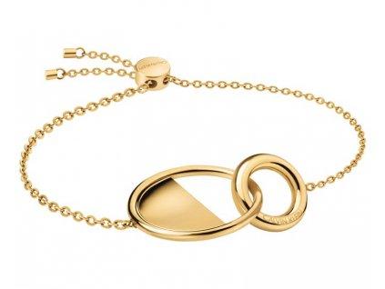 calvin klein luxusni pozlaceny naramek locked kj8gjb1001 1447525320180205131608