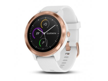 Garmin VívoActive3 Optic Rose Gold, White band 010-01769-07