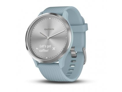 Garmin Vívomove Optic Sport Silver, Seafoam band (velikost S/M) 010-01850-08