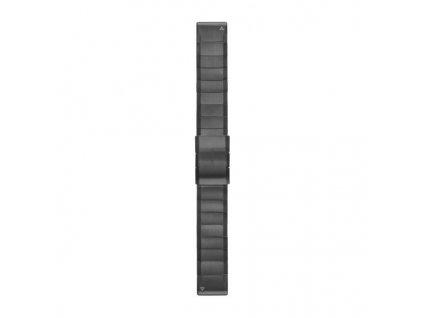 Garmin řemínek pro fenix5/Quatix5/Forerunner 935 - QuickFit 22, ocelový, šedý