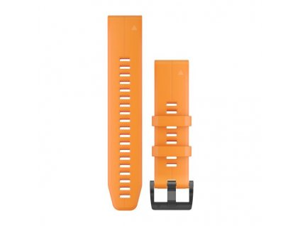 Garmin řemínek pro fenix5 Plus - QuickFit 22, oranžový