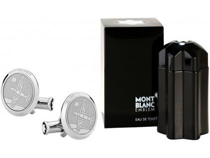 Manžetové knoflíčky Montblanc Malý princ 123795  + toaletní voda Montblanc v hodnotě 520Kč