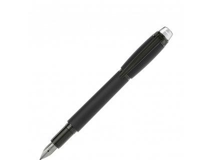 Plnící pero Montblanc StarWalker Ultra Black 118460  + dárkový poukaz v hodnotě 1000Kč