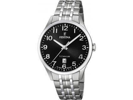 festina titanium date 20466 3 183689 202673