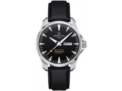 certina ds action automatic powermatic 80 day date c0324301605100 182782 203663