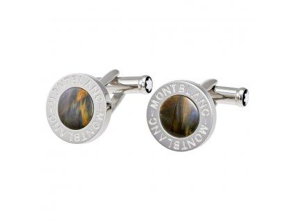 Manžetové knoflíčky Montblanc 107902  + dárkový poukaz v hodnotě 500Kč + toaletní voda Montblanc v hodnotě 520Kč
