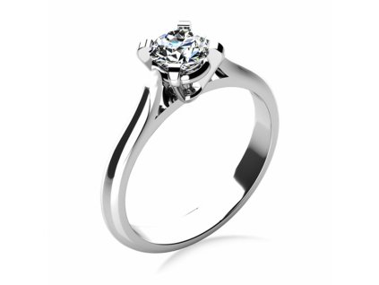Prsten z bílého zlata 6864088  + možnost výměny do 90 dní