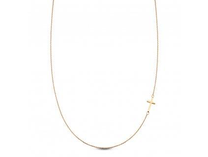 Zlatý dámský náhrdelník CA11075