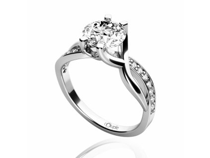 Zlatý dámský prsten Maui 4565065