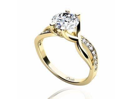 Zlatý dámský prsten Maui 4515065