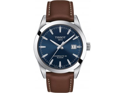 tissot gentleman automatic powermatic 80 silicium t1274071604100 185975 209965