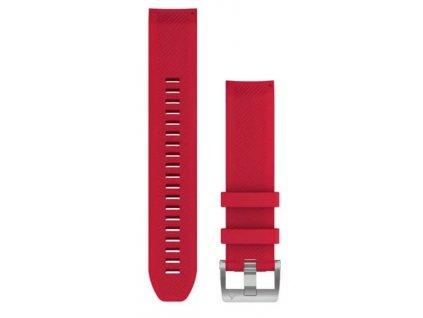 Garmin řemínek pro MARQ - QuickFit 22, silikonový, červený