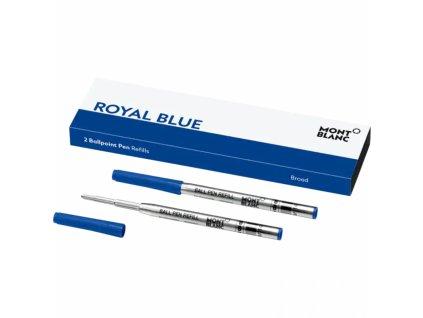 Náplň Montblanc pro ballpoint 124491 B Royal Blue  + možnost výměny do 90 dní