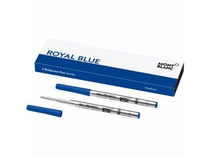 Náplň Montblanc pro ballpoint 128214 M Royal Blue  + možnost výměny do 90 dní
