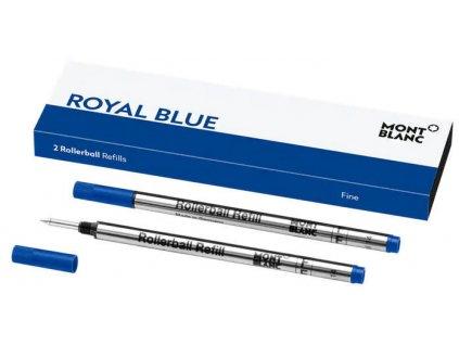 Náplň Montblanc pro rollerbal 124501 F royal blue  + možnost výměny do 90 dní