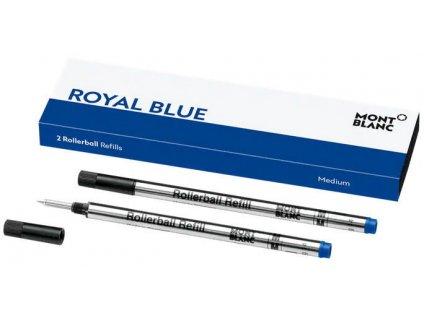 Náplň Montblanc pro rollerbal 128233 M royal blue  + možnost výměny do 90 dní