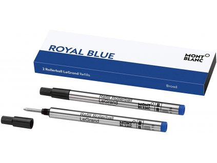Náplň Montblanc pro rollerbal 124497 B LeGrand royal blue