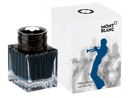 Inkoust Montblanc 114991 Miles Davis Blue 30 ml  + možnost výměny do 90 dní