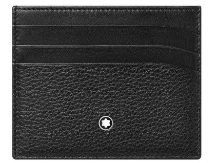 Pouzdro na kreditní karty Montblanc Meisterstück Soft Grain 126258  + možnost výměny do 90 dní