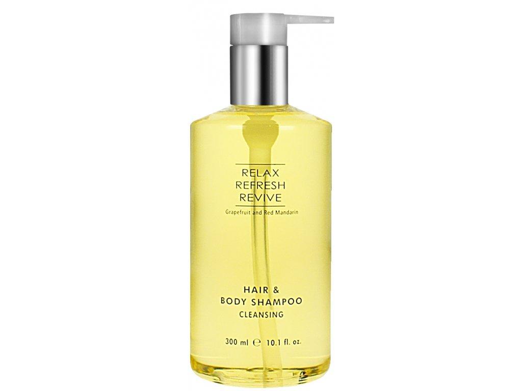 3RM Hair and Body Shampoo 300ml s pumpou